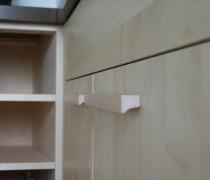 Detail Küche Ahorn