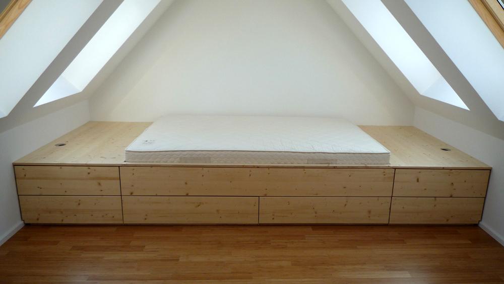 einbaubett dachschr ge haus design und m bel ideen