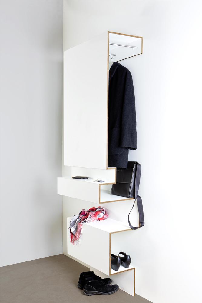 Gestaltung und design m beltischlerei christiane kummer Garderobe birke