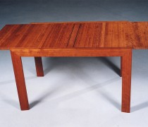 Tisch ausziehbar, Kirschbaum massiv
